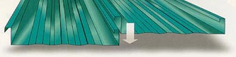 SS216 Metal Building Roof Panel